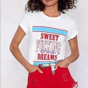 Sweet Fucking Dreams Relaxed Tee
